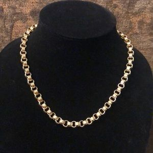 Givenchy Vintage Chain Link Gold Necklace